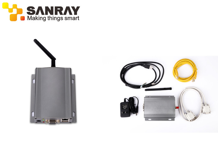 Omni Directional 2.45GHz Active RFID Reader  With SDK / 100 Meters Read Distance